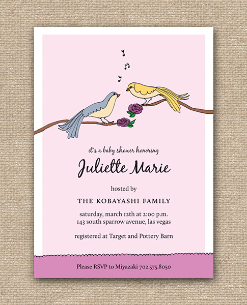 LoveBirdsSinging_DIY_Invites_Purple_Layout, LoveBirdsSinging_DIY_Invites shop at Etsy, Spring, Summer, love, birds, singing roses, pink, purple, whimsical, musical, valentines, bridal, baby, shower, party, diy, printables, invitation, invite, nature, sparrows