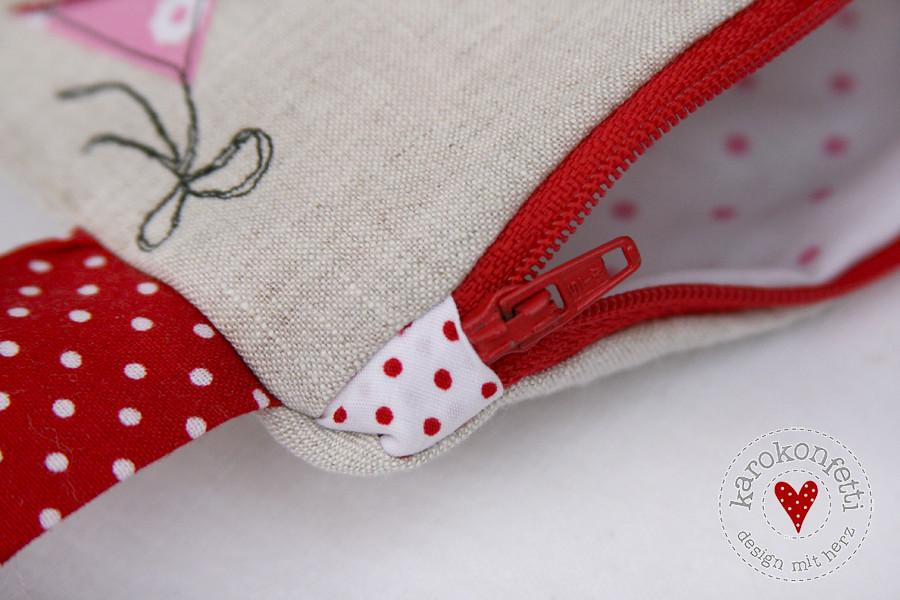zippertäschchen rosarot01