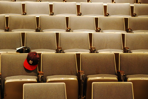 Lecture Hall I, UMBC, Wednesday night, fall semester, 2010