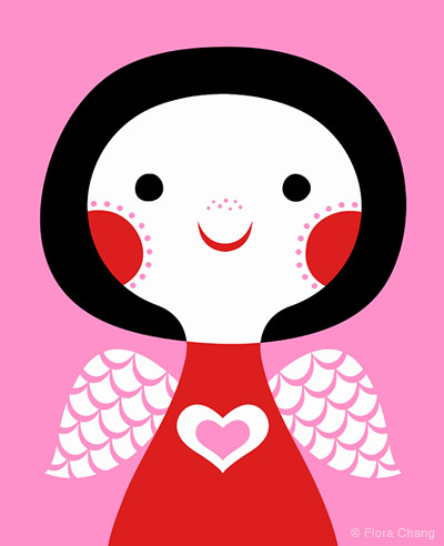 Pink Love Angel