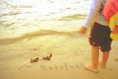 barefoot (Tarqe alzharani || ******) Tags: sea yellow canon barefoot 1855mm mysweetheart 2011 550d tarqe alzharani
