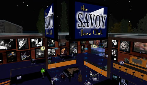 the savoy jazz club in second life