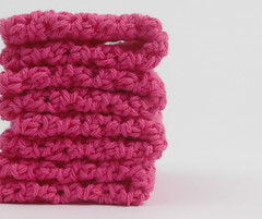 hotpink1 (Reina Ferraris) Tags: pink summer usa handmade dishcloth washcloth madeinusa hotpink