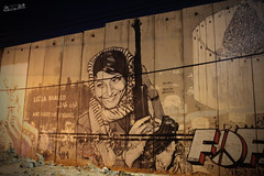 """Don't forget the struggle"" #LeilaKhaled. (Carlos Leyva ) Tags: carlos leyva fotografa fotos foto picture pictures photography branding photographer fotgrafo design marca publicist publicista publicidad mercadeo marketing marketer booker manager advertiser viaje trip travel world beln bethlehem leilakhaled wall muro west bank"