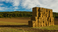 Mur de paille / Wall of straw (Greg Sotf) Tags: campagne champ paille moisson france bourgogne countryside straw harvest field