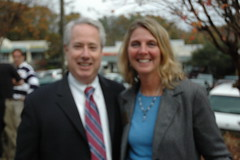 Sam Olens, Attorney General-Elect and Kim Mergen Cobb County DOT