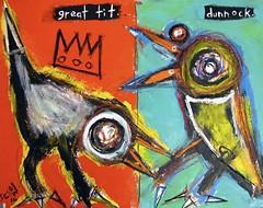 Matt Sesow - Great tit and dunnock