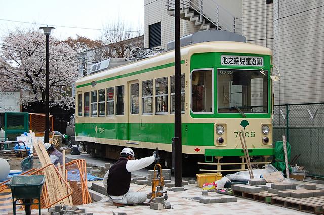 東京都交通局都電荒川線7500形 7506