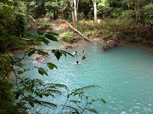Blue Pools - White River, Newstead Jamaica