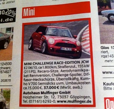 MRP MINI for Sale
