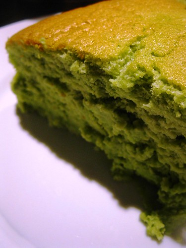 Singlish Swenglish Green Tea cheesecake