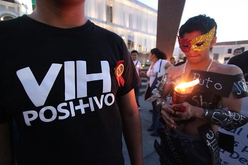 marcha del VIH 1