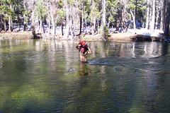 Fording Tilden Creek