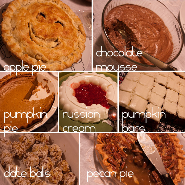 Thanksgiving desserts!