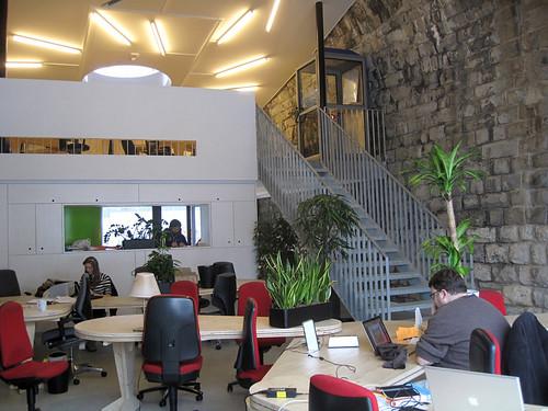 Hub Zürick work space