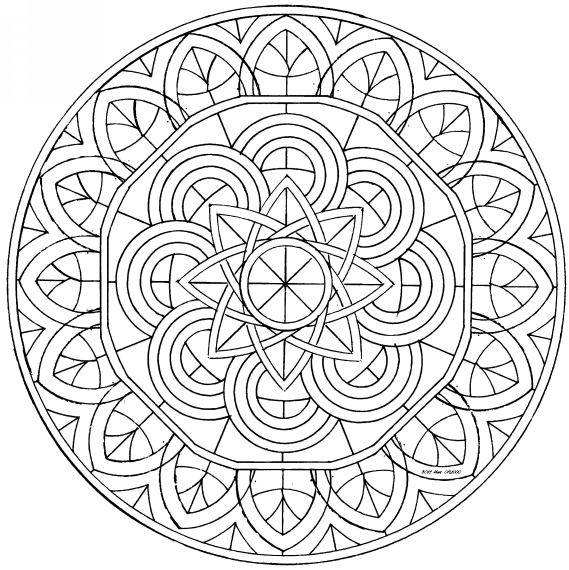 Free Coloring Pages Of Salamandras Para Colorear Mandala Colorear