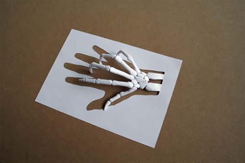 Mano de papel