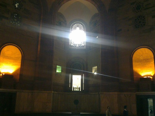 Inside North Block Building