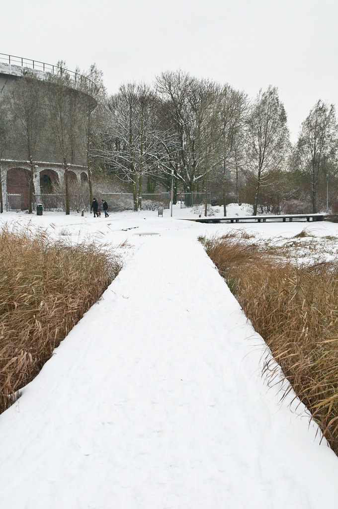 Snow in Westerpark