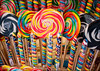 Whirly Pop (*ian*) Tags: city colour macro cane closeup spiral dof candy market sweet stall hampshire lolly colourful southampton candycane favourite coloured lollypop whirlypop streetmarket marketstall bigemrg bestofmywinners