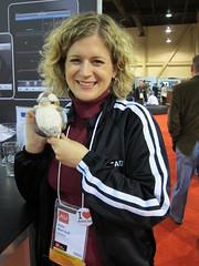 Kate Morrical joins the TechSmith Spork Club - Autodesk University 2010