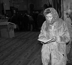 Prayer (Dushan B. Hadnadjev [slowly back]) Tags: world life camera light people woman man eye art love face female hands photographer time spirit traditional serbia documentary social soul serbs balkans orthodoxy srbija serbian србија dushan душан dushanhadnadjev