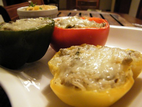 stuffed baked peppers