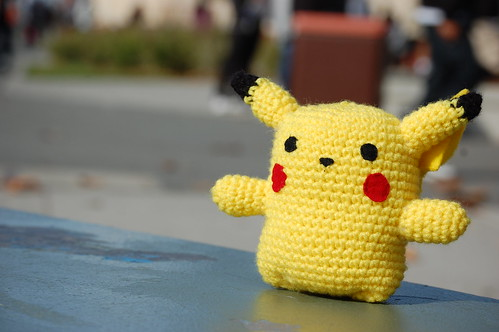 Knitted Pikachu Pattern : POKeMAG Art and Culture of Pokemon: Knitted Pikachu
