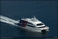 Draupner (Aviation & Maritime) Tags: norway tide catamaran bergen hsc hsd austal draupner highspeedcraft austal42