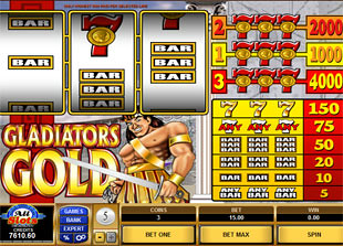 Gladiators Gold slot game online review
