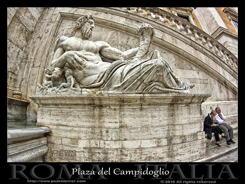 Roma - Campidoglio - Escultura