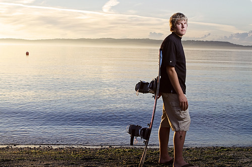 Senior Portrait - Wakeboard