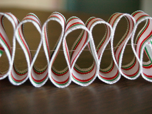 Ribbon Candy Ornament, Step 4