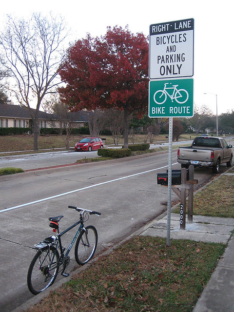 Bicycles and Parking ONLY - Apollo East Side