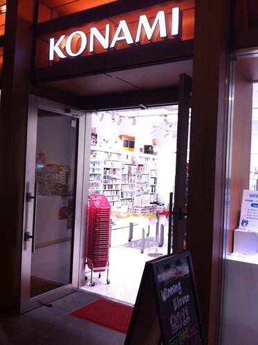 KONAMI Style@Roppongi.Tokyo