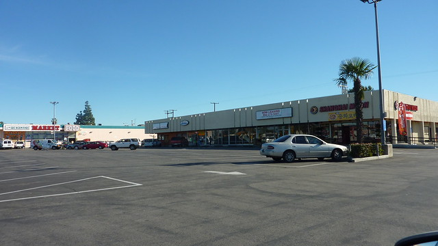 Strip Mall, Stanton CA