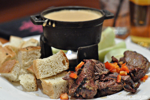 Steak Gouda Fondue at Flame ~ Roseville, MN