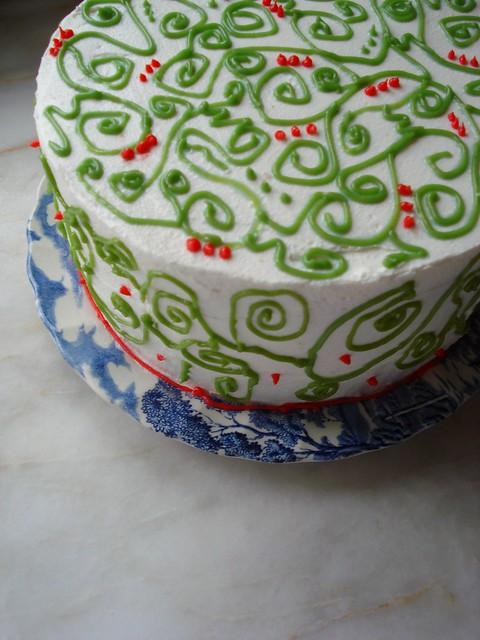 newyear walnut cake