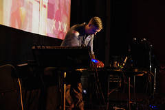 The Simonsound perform at The Duke of Yorks in Brighton (maxcady808) Tags: show music cinema film brighton live moog djformat simonjames dukeofyorks debbieclare thesimonsound laurajmartin