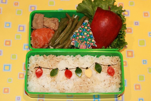 Christmas Lights Bento