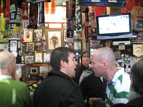 A Real Football Pub...in Glasgow... December