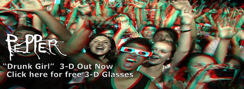 Pepper 3D Banner Release