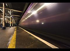 Green light. Warrington. Explored (Ianmoran1970) Tags: light green lines station train warrington platform explore rush explored ianmoran ianmoran1970