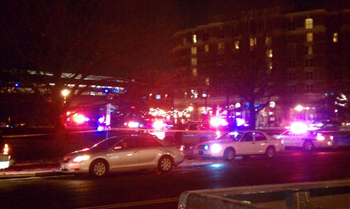Police Incident at King Street Metro