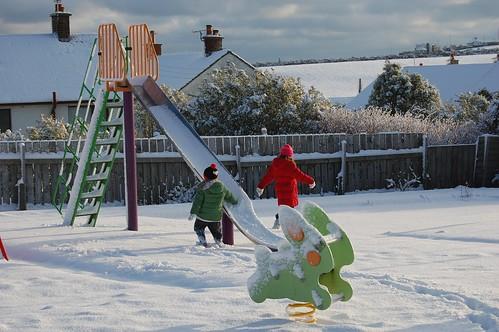 Snowy Playpark