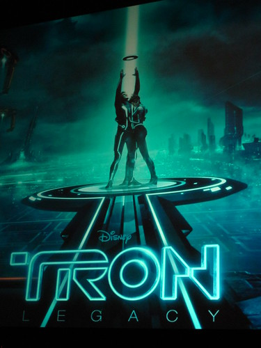 TRON: Legacy at the El Capitan