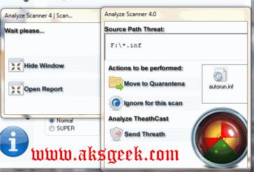 analyze scanner scanning