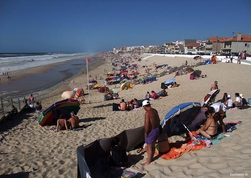 A praia do Pedrogão