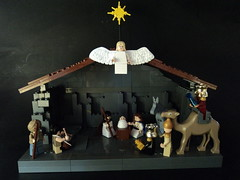 The Nativity (billbobful) Tags: family boy 3 men joseph three lego little mary jesus donkey scene holy wise drummer nativity jebus shepperd angelchristmas