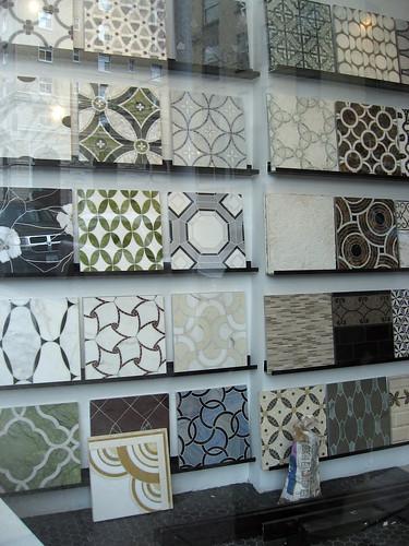 Lovely tile selection